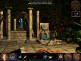 Quest for Glory V: Dragon Fire Windows The hero chats with the Oracle in the Rite of Destiny, who finally coins the phrase for the series' name