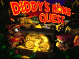 Donkey Kong Country 2: Diddy's Kong Quest SNES Title screen