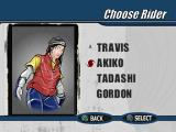 Cool Boarders 3 PlayStation Rider selection