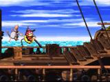 Donkey Kong Country 2: Diddy's Kong Quest SNES Dock level