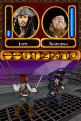 Disney Pirates of the Caribbean: At World's End Nintendo DS Duel with Barbossa
