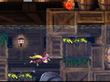 Donkey Kong Country 2: Diddy's Kong Quest SNES Underwater level
