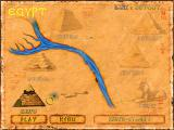 Brickshooter Egypt Windows A map of the pyramids.