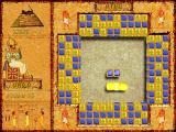 Brickshooter Egypt Windows Three blocks matched.