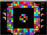 BrickShooter Windows Windowed: 10 Color game, highest difficulty