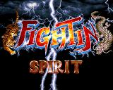 Fightin' Spirit Amiga Title screen