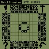 BrickShooter Palm OS 10 variant game, eek!