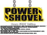 Power Shovel PlayStation Title screen