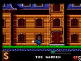 The Addams Family SEGA Master System Somebody is throwing white balls at me, in front of my own house... impudence.