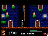 The Addams Family SEGA Master System This skeleton will deplete a lot of your health if you touch him.