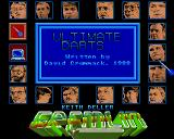 John Lowe's Ultimate Darts Amiga Choose an Exhibition opponent