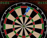 John Lowe's Ultimate Darts Amiga 180 - well nearly !