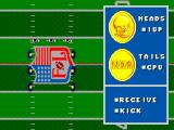 Walter Payton Football SEGA Master System Heads or tails?