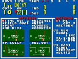 Walter Payton Football SEGA Master System Your strategies