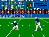 Walter Payton Football SEGA Master System Attempting a field goal