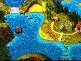 Donkey Kong Country 3: Dixie Kong's Double Trouble! SNES Nice world map!