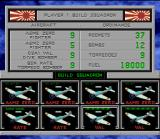 Carrier Aces SNES Japanese Air Force Squadron setup