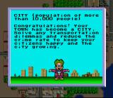 SimCity SNES The population is ultimately responsible for moving the city into it's next phase.... and also causing more problems for traffic and resources.