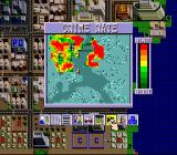 SimCity SNES The minimap is a necessary tool to address a variety of issues.