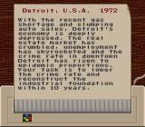 SimCity SNES A typical scenario briefing with specific goals