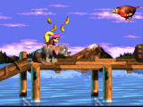Donkey Kong Country 3: Dixie Kong's Double Trouble! SNES Riding an elephant!