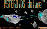 Asteroids Deluxe Atari ST Loading screen