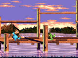Donkey Kong Country 3: Dixie Kong's Double Trouble! SNES Beautiful scenery! The water looks simply stunning, consider the year