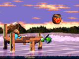"Donkey Kong Country 3: Dixie Kong's Double Trouble! SNES If you've lost your buddy, hit such an ""OK"" barrel to get him back"