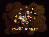 Donkey Kong Country 3: Dixie Kong's Double Trouble! SNES Entering a bonus level