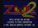 Zool 2 Jaguar Title Screen