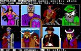 The Ancient Art of War DOS Choose your opponent (VGA)