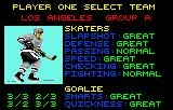 Hockey Lynx Select your team.
