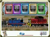 Thomas and Friends: Thomas Saves the Day Windows Match sounds to move the Troublesome Trucks off the track
