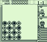 Yoshi's Cookie Game Boy The first level ... fairly easy stuff