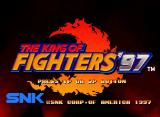 The King of Fighters '97 Neo Geo CD Title screen