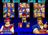 The King of Fighters '97 Neo Geo CD Character selection