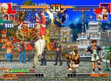 The King of Fighters '97 Neo Geo CD Athena Asamiya's counterattack chance suddenly dismantled by Yashiro Nanakase's move Upper Duel...