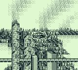 The Adventures of Star Saver Game Boy The UFO invades.