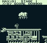 The Adventures of Star Saver Game Boy The first boss-like character