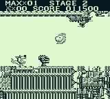The Adventures of Star Saver Game Boy The Lions Head is one of many power-ups.