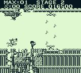 The Adventures of Star Saver Game Boy What's worse: Fido or music notes?