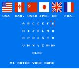 World Games NES Choose your players and their countries!