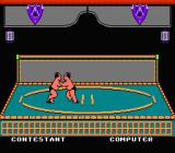 World Games NES Sumo wrestlers