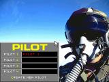 Black Knight: Marine Strike Fighter  DOS Career menu