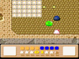 Kirby's Dream Land 3 SNES This green thing can swallow you and throw you very high to the next platform
