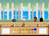 Kirby's Dream Land 3 SNES The end of a level anticipates sometimes the next one