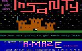 Amaze DOS Insanity re-release title screen