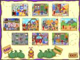 The Adventures of Elmo in Grouchland Windows The game map and level selection