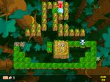 Snowy: Puzzle Islands Windows In the jungle level Snowy looks more at home.