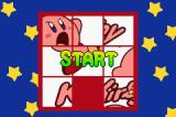 Kirby Puzzle Game Boy Advance Start of the puzzle